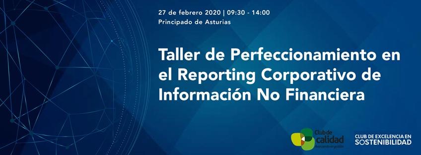 Taller de Perfeccionamiento en el Reporting Corporativo de Información No Financiera