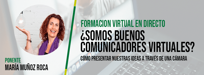 Formación Virtual en Directo con María Muñoz