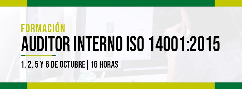 Formación Auditor Interno 14001 Asturias