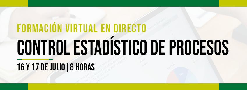 Formación Virtual en Directo: control estadístico de procesos