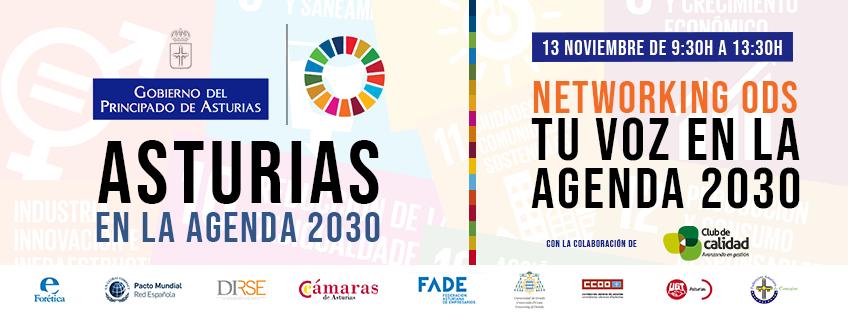 Networking ODS: Tu voz en la Agenda 2030