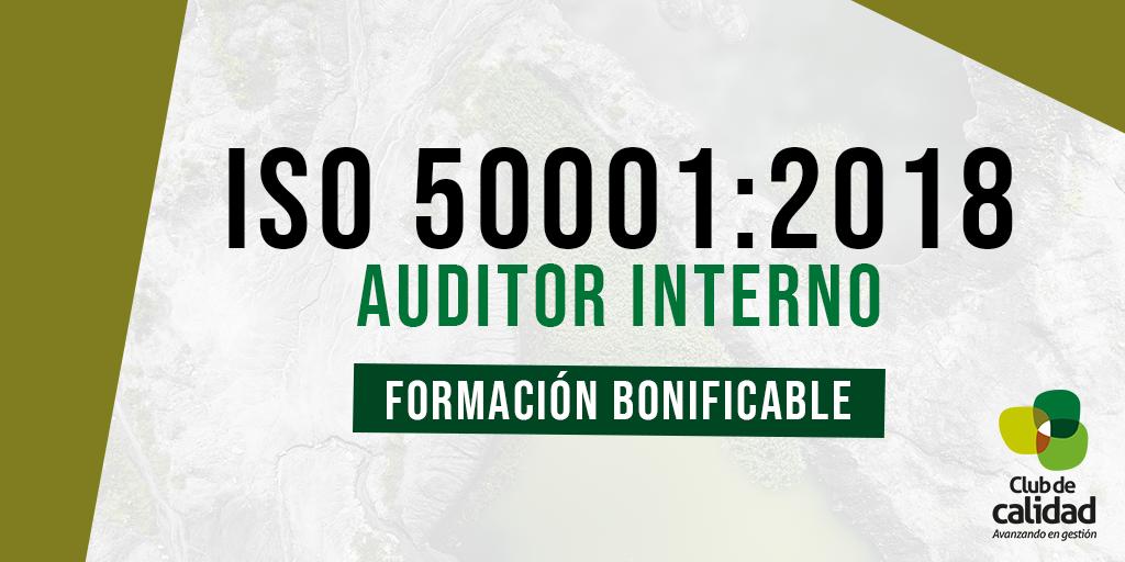 Formación ISO 50001:2018 . Auditor