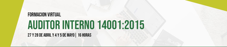 Formación Auditor 14001:2015