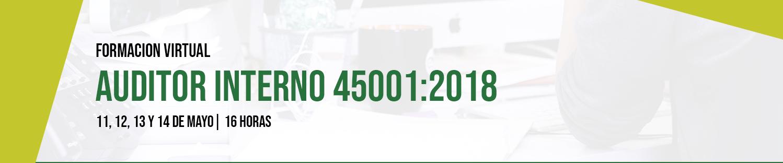 Formación: auditor interno 45001