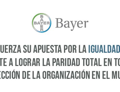 Bayer refuerza su apuesta por la igualdad de género y se compromete a lograr la paridad total en todos los niveles de dirección de la organización en el mundo en 2030