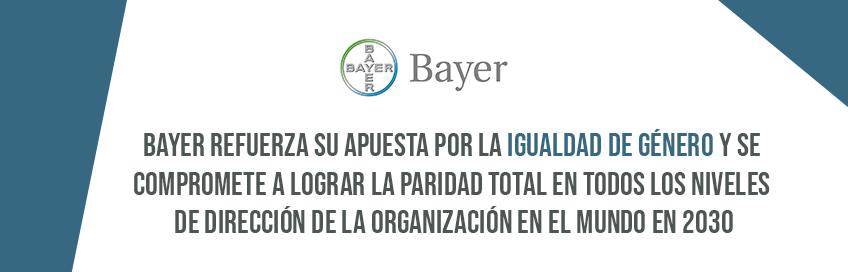 Bayer refuerza su apuesta por la igualdad de género