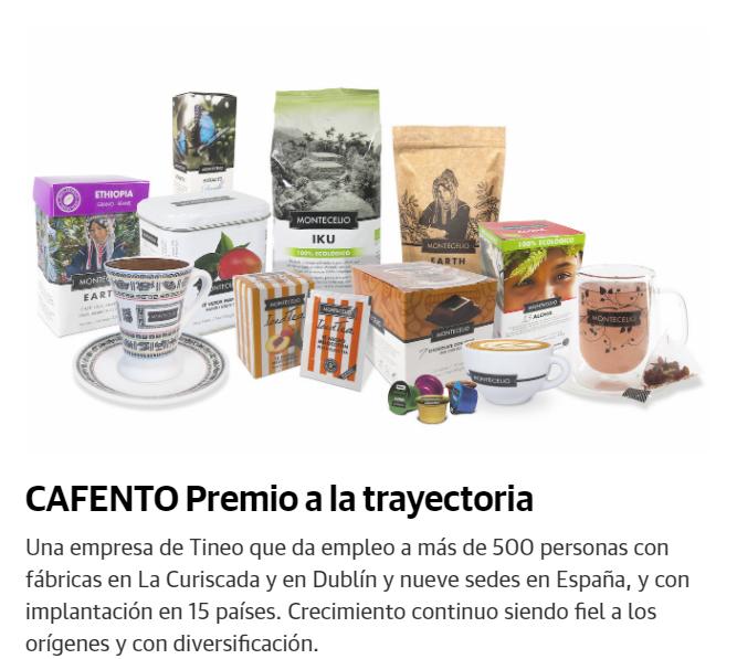 Cafento premio a la trayectoria