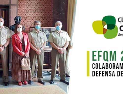 Colaboramos con la Delegación de Defensa para analizar el nuevo Modelo EFQM 2020