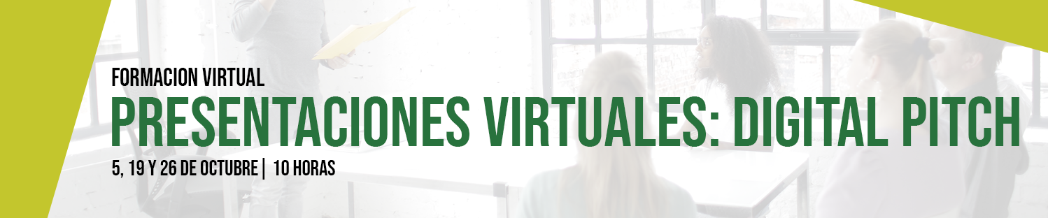 Presentaciones virtuales: digital Pitch
