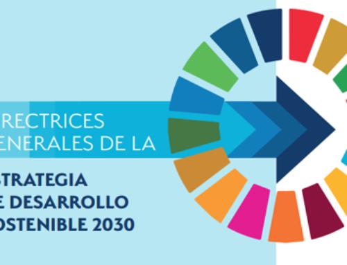 Directrices Generales de la Estrategia Española de Desarrollo Sostenible 2030