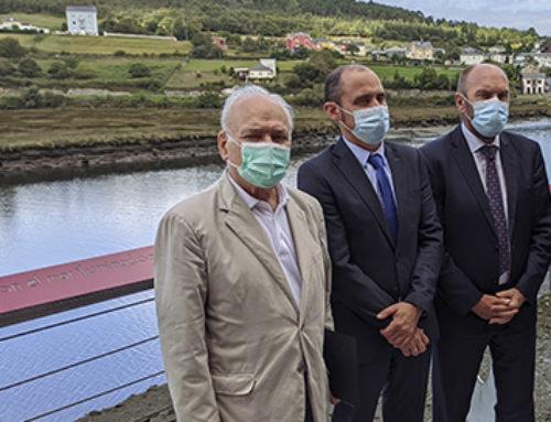 Ence apuesta por el desarrollo industrial sostenible y la vertebración del territorio desde su biofábrica de Navia