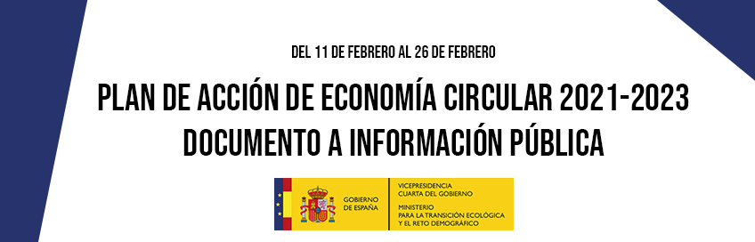 Plan de Acción de Economía Circular 2021-2023: documento a información públicaicono barra herramientas