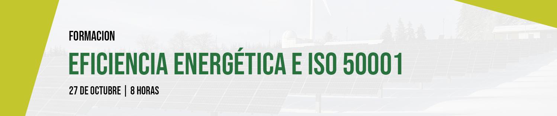 Formación: Eficiencia Energética e ISO 50001