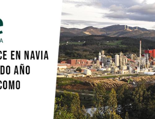 """La biofábrica de Ence en Navia certifica por segundo año su reconocimiento como """"Residuo Cero"""""""
