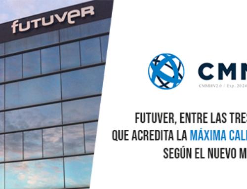 Futuver, entre las tres únicas empresas en España que acredita la máxima calidad de su Ingeniería de software según el nuevo modelo CMMI v2.0 nivel 5