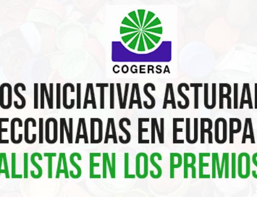 Dos iniciativas asturianas seleccionadas en Europa como finalistas en los premios SEPR