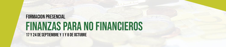 Formación presencial: Finanzas para no financieros