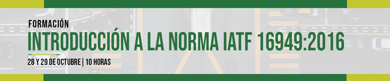 Formación Norma IATF 16949:2016