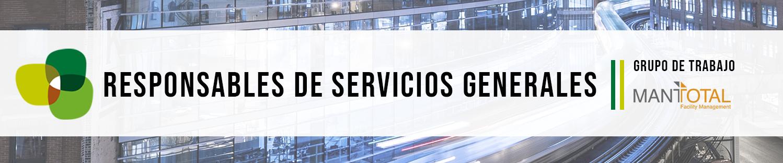 Grupo de Trabajo de Servicios Generales con Mantotal