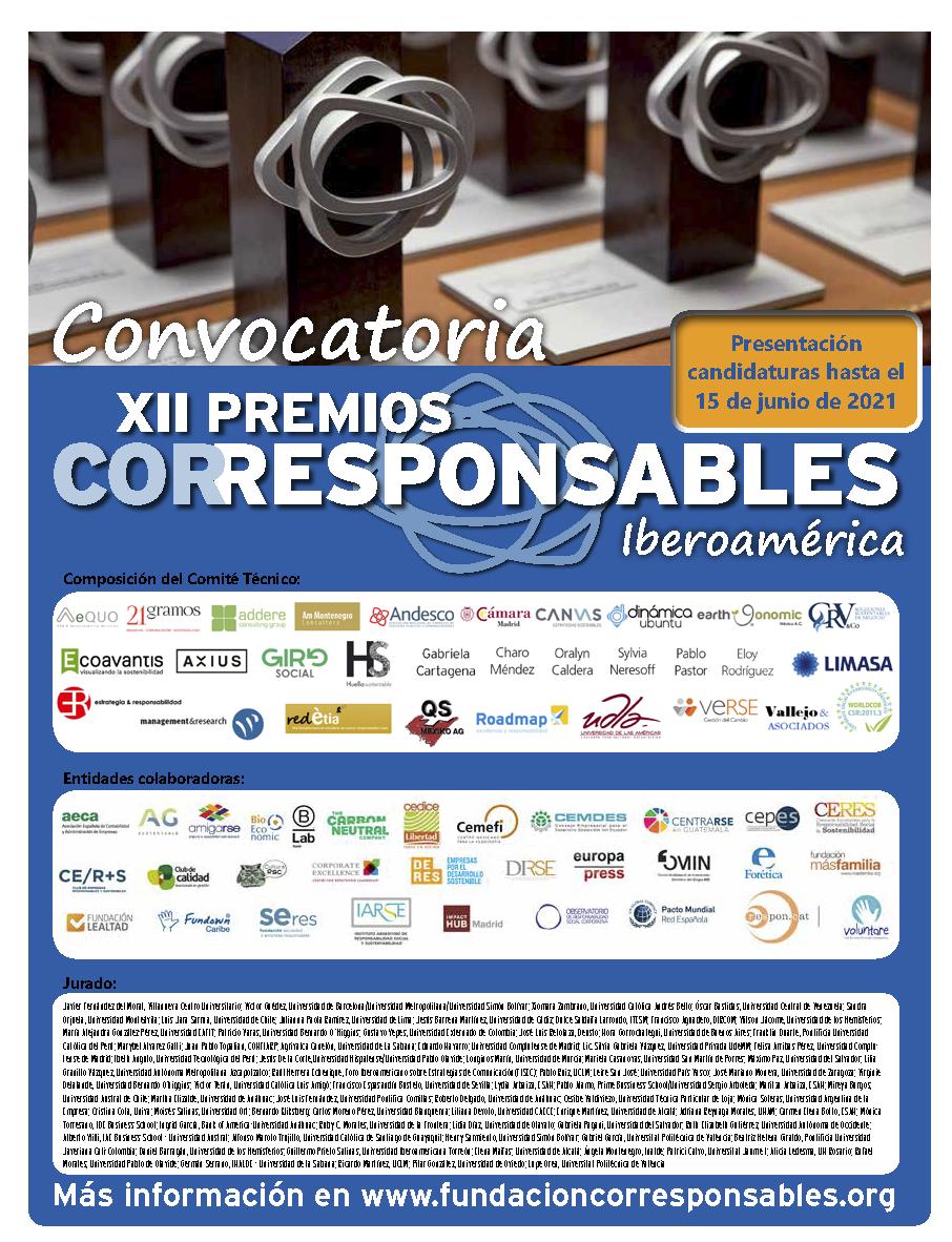 Convocatoria XII Premios Corresponsables