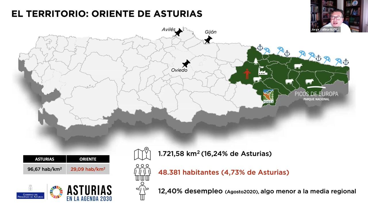 Taller virtual: TERRITORIO ASTURIANO Y AGENDA 2030: EL ORIENTE