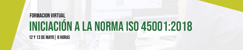 Iniciación a la norma ISO 45001:2018