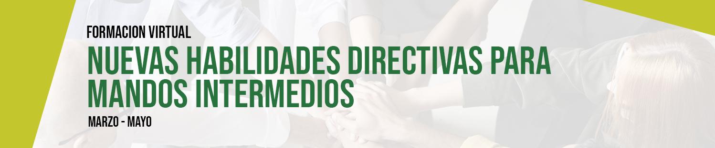 Formación: Nuevas Habilidades Directivas para Mandos Intermedios