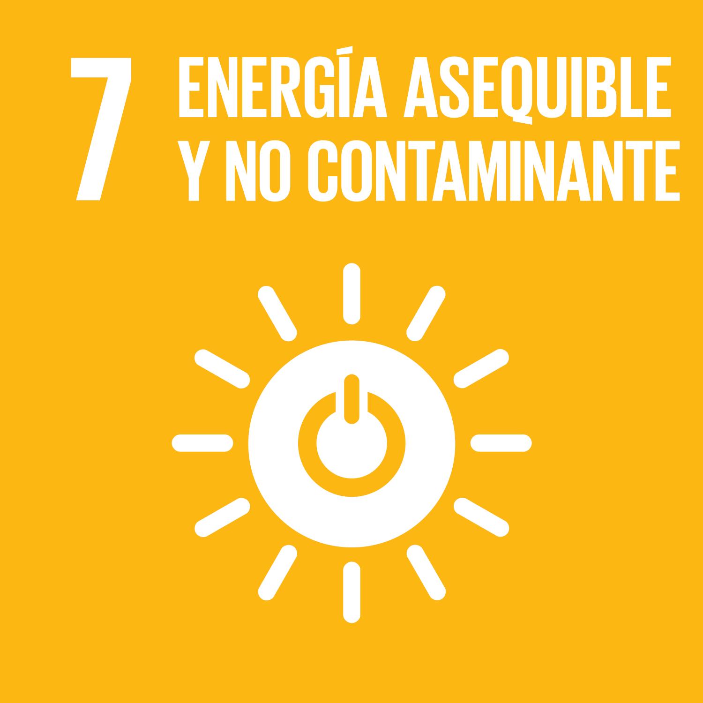 ODS 7: Energía asequible y no contaminante