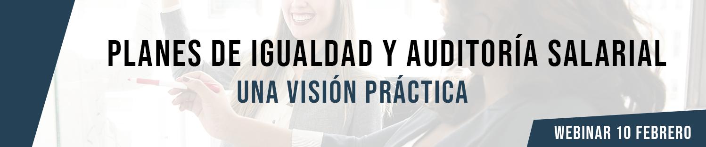 Webinar: Planes de Igualdad y Auditoría Salarial: una visión práctica