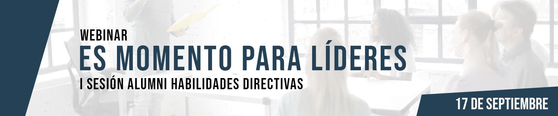 """Webinar: """"Es momento para Líderes"""""""