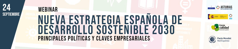 Nueva Estrategia Española de Desarrollo Sostenible 2030