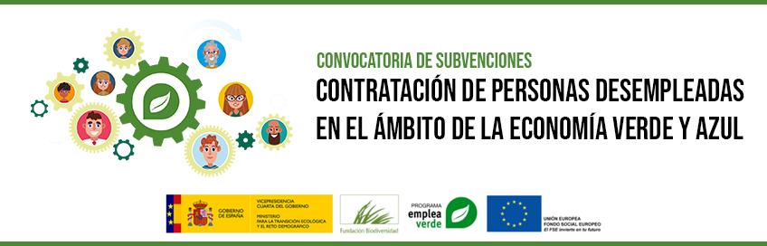 Convocatoria de subvenciones: EmpleaVerdeEmplea