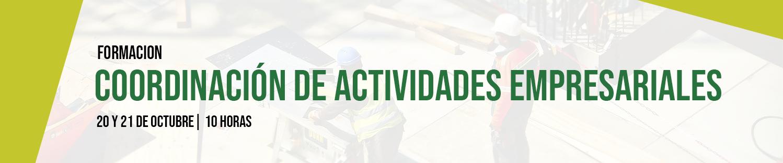 Formación presencial: coordinación de actividades empresariales
