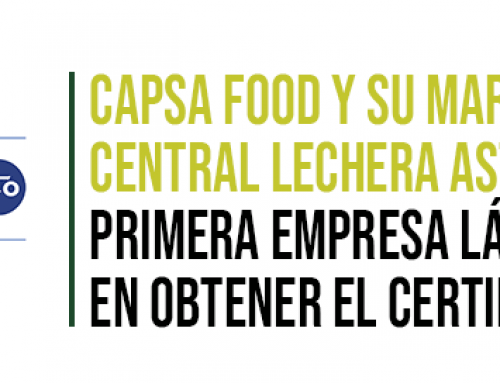 CAPSA FOOD primera empresa láctea española en obtener el certificado B Corp
