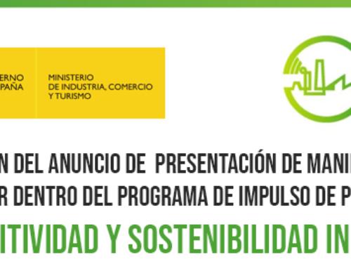 Inminente publicación del anuncio de presentación de Manifestaciones de Interés del Programa de Impulso de Proyectos Tractores de Competitividad y Sostenibilidad Industrial.