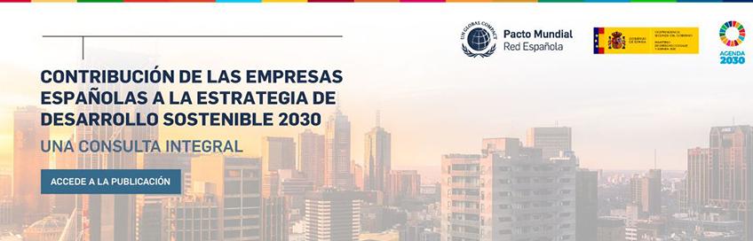 Contribución de las empresas españolas a la estrategia de desarrollo sostenible 2030