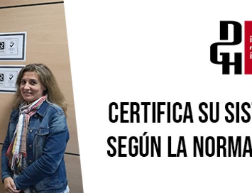 DGH: CERTIFICACIÓN ISO 14001:2015