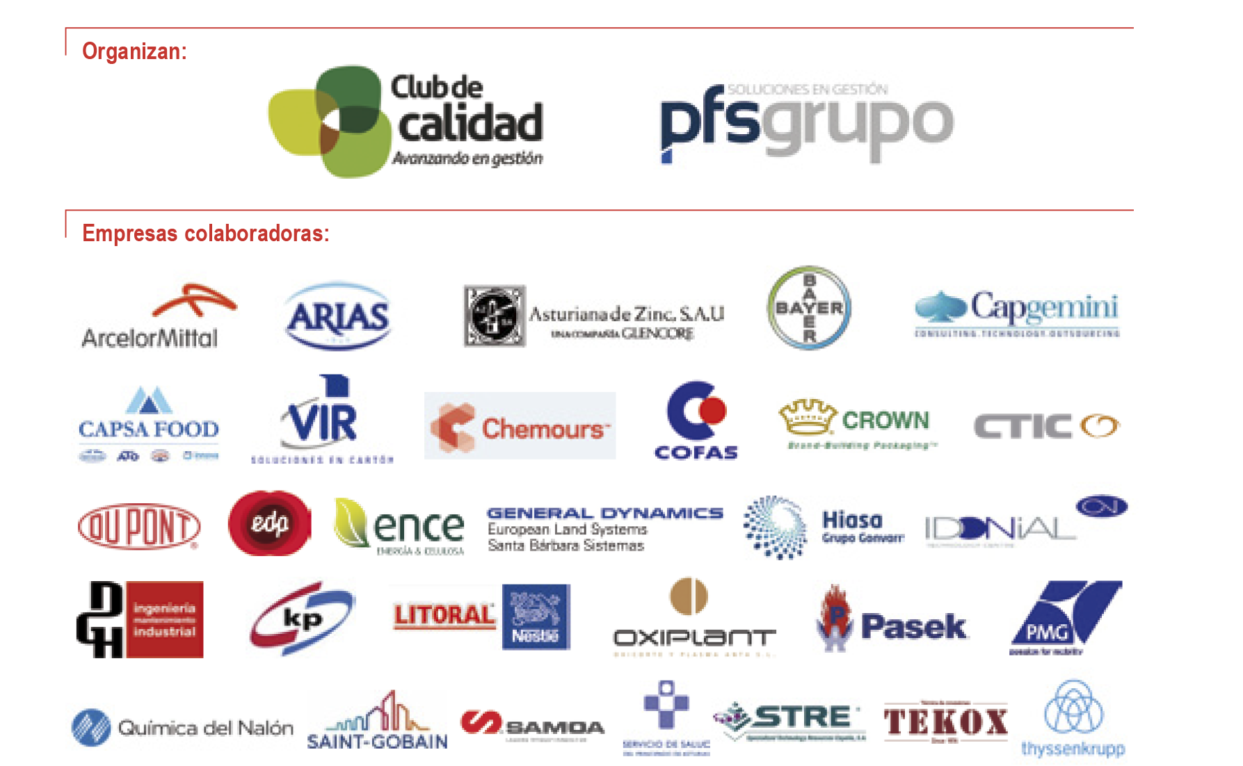 Empresas Colaboradoras Máster IUDE