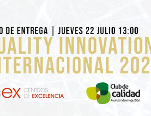 Acto de entrega del Quality Innovation Award Internacional a TSK