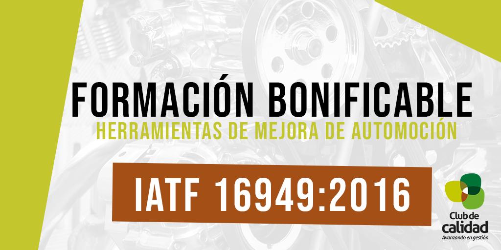 Formación Automoción: IATF 16949