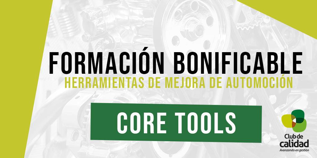 Formación Automoción: Core Tools