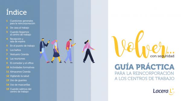 Lacera publica una Guía Práctica para la reincorporación a los centros de trabajo