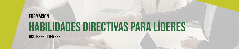 Formación: Habilidades Directivas para líderes