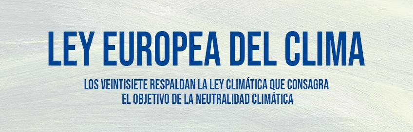 Ley Europea del Clima