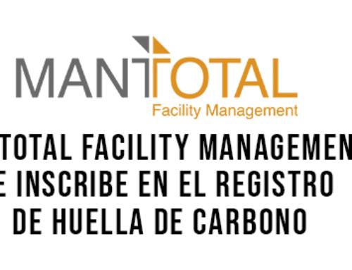 Mantotal Facility Management se inscribe en el Registro de Huella de Carbono