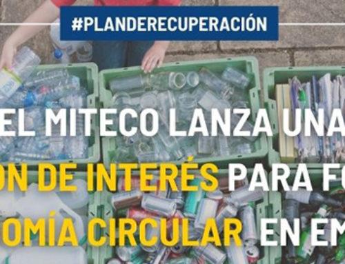 El MITECO lanza una expresión de interés para fomentar la economía circular