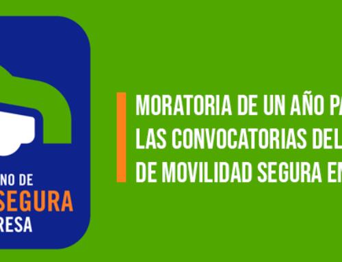 Moratoria de un año para todas las convocatorias del Sello Asturiano de Movilidad Segura en le Empresa