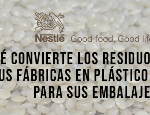 Nestlé convierte los residuos plásticos de sus fábricas en plástico reciclado para sus embalajes