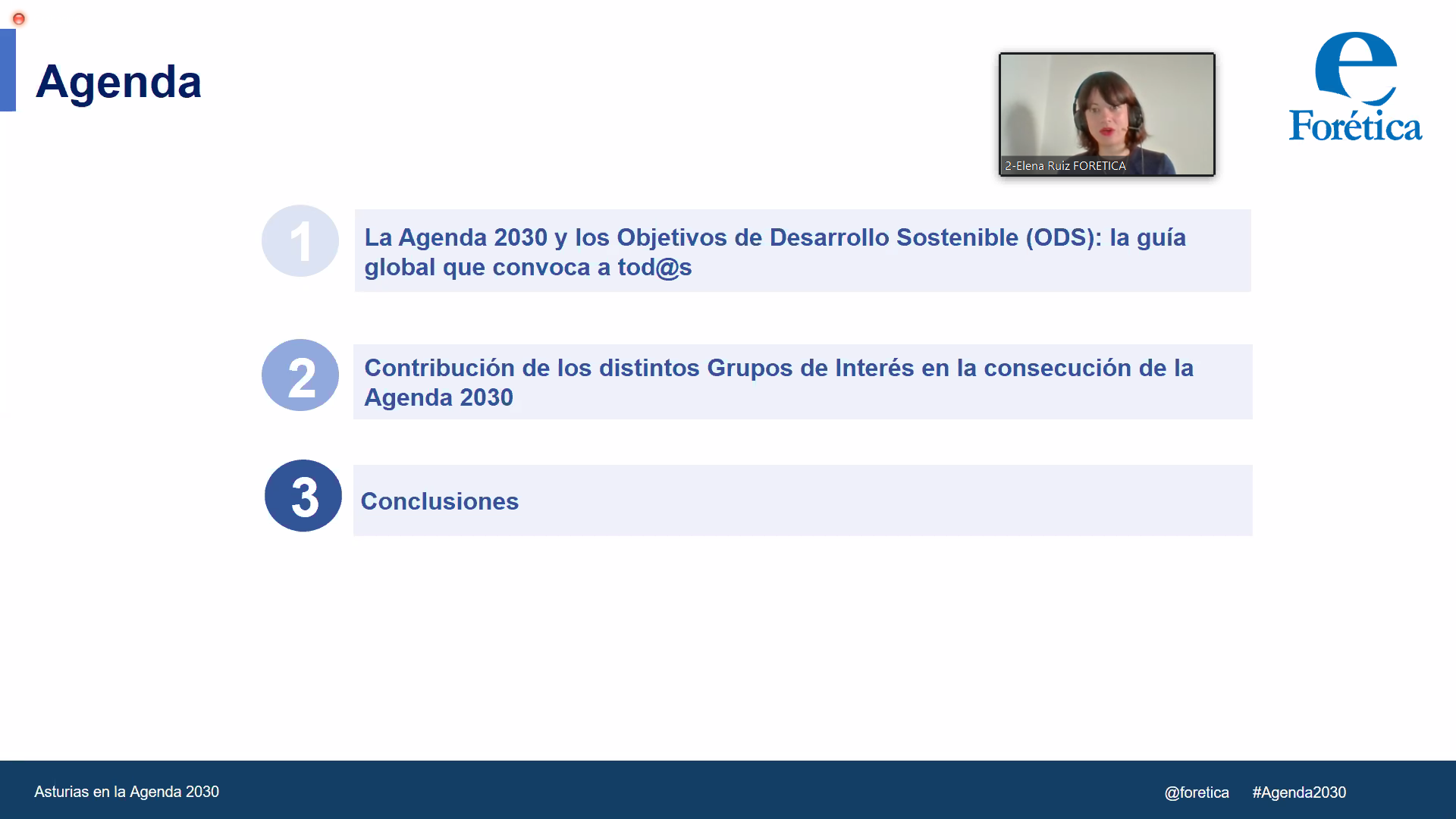 Networking ODS : TU VOZ EN LA AGENDA 2030