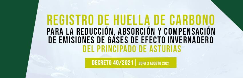 Regulado el Registro Asturiano de Huella de Carbono